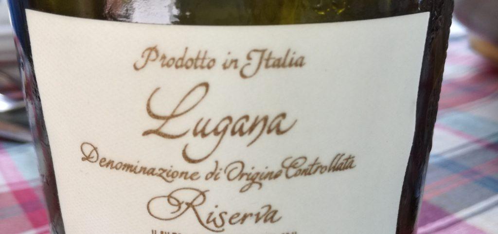 Etichetta di un vino