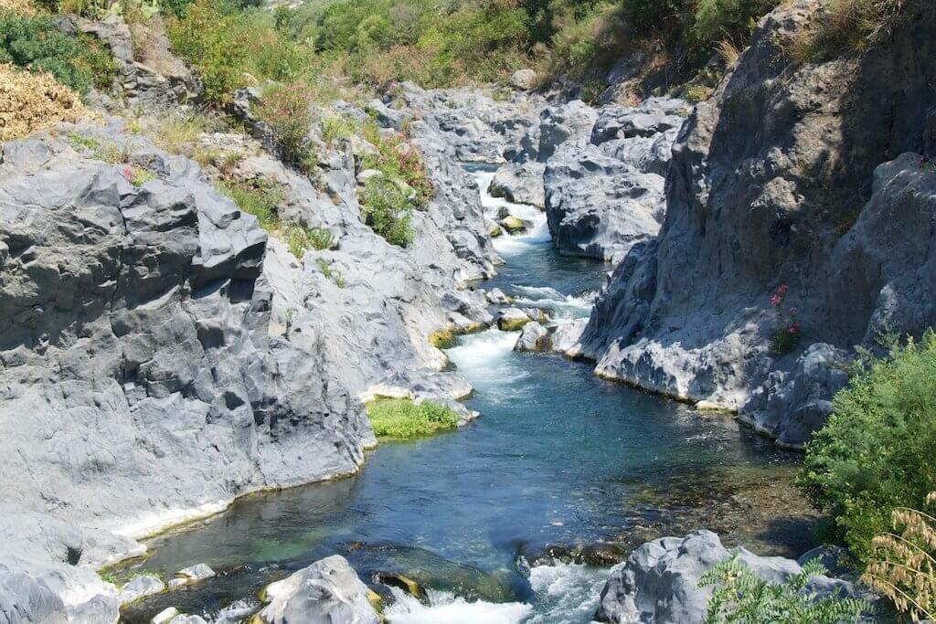 Etna: itinerario enoturistico - Gole dell'Alcantara